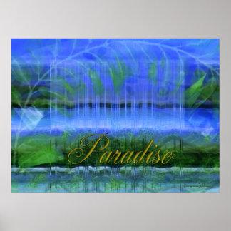 Paraíso da cachoeira poster