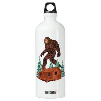 Paraíso de Bigfoot Garrafa D'água De Alumínio