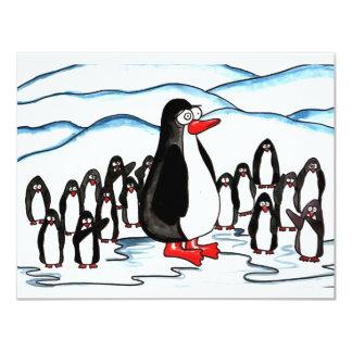 Paraíso do pinguim convite