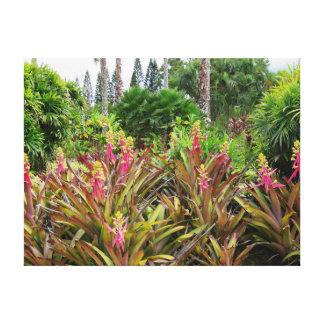 Paraíso havaiano impressão em tela