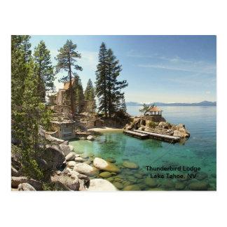 Paraíso @ Lake Tahoe, Nevada Cartão Postal