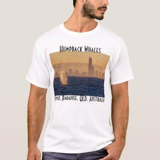 Paraíso Queensland dos surfistas das baleias de Camiseta