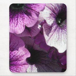 Paraíso roxo dos petúnias mouse pad
