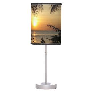 Paraíso tropical luminária de mesa