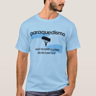 Paraquedismo Camiseta