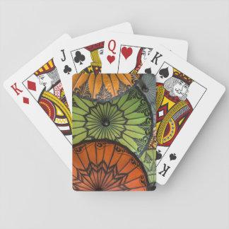 parasóis para a venda, bagan, myanmar jogo de carta