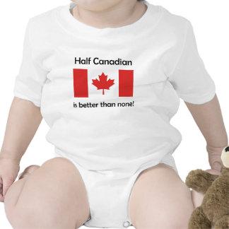 Parcialmente canadense macacãozinhos para bebê