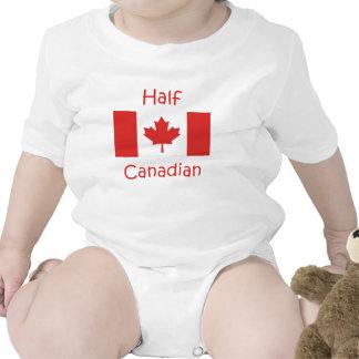 Parcialmente canadense macacões