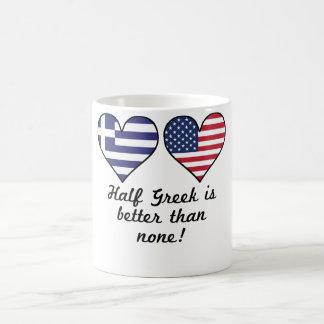 Parcialmente grego é melhor do que nenhuns caneca de café