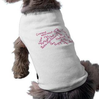 Pardon meu francês roupas para pets