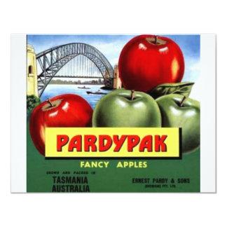 Pardypak Convite 10.79 X 13.97cm