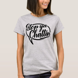 Pare a camiseta do calão de Ya Chattin Manchester