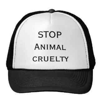 PARE a crueldade animal Boné