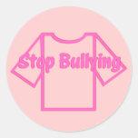 Pare a etiqueta 2 de Bulling Adesivo Em Formato Redondo