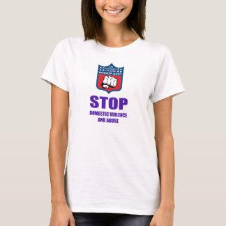 Pare camisas da violência doméstica
