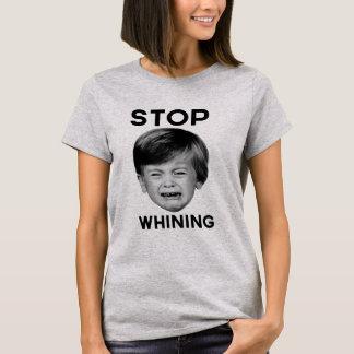 Pare de lamentar-se camiseta