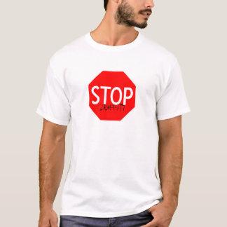 pare grafites camiseta