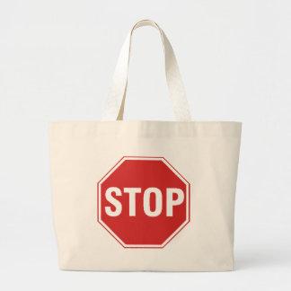 Pare o design do sinal! Original refrigere o desig Bolsas Para Compras