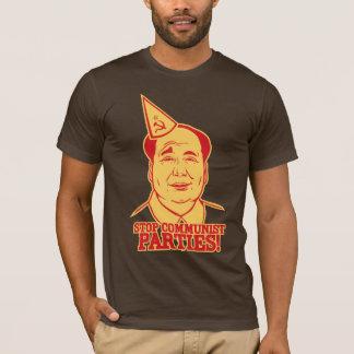 Pare o t-shirt dos partidos comunistas camiseta