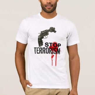 Pare o terrorista camiseta