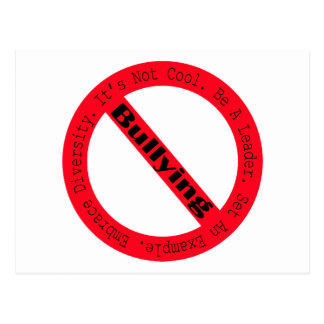 Pare o Tiranizar-Logotipo por Shirley Taylor Cartão Postal