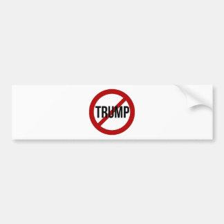 Pare o trunfo adesivo para carro
