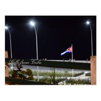 Paredão de Havana Cuba Cartão Postal