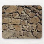 Parede de pedra bonita mousepad