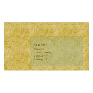 Parede de tijolo cartão de visita