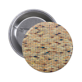 Parede de tijolo com diversas cores bóton redondo 5.08cm