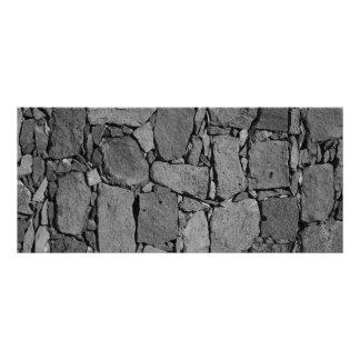 Parede do basalto panfleto informativo personalizado