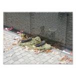 Parede do memorial de Vietnam Fotos