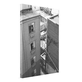 Paredes da cidade impressão em tela canvas