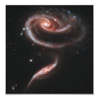 Pares da galáxia do Arp 273 (telescópio de Hubble) Impressão De Foto