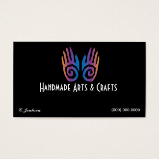 Pares de artes e de artesanatos do cartão de