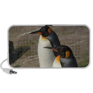Pares de auto-falante dos pinguins caixinhas de som de viagem
