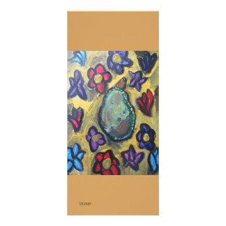 pares e flores 10.16 x 22.86cm panfleto