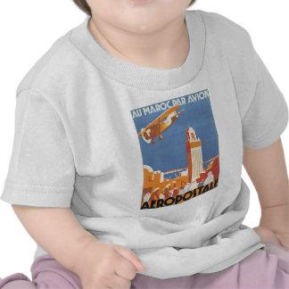 Paridade Avion de Maroc do Au T-shirt