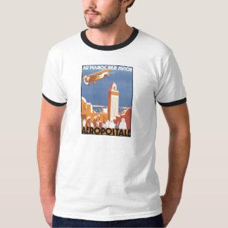 Paridade Avion de Maroc do Au de Aeropostale Camiseta
