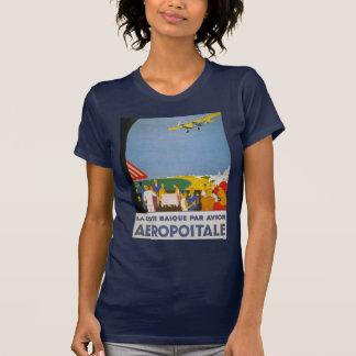 Paridade Basque Avion da costa do La Camiseta