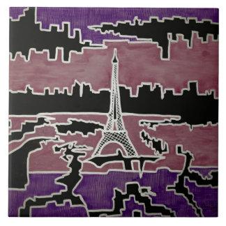Paris Azulejo Quadrado Grande