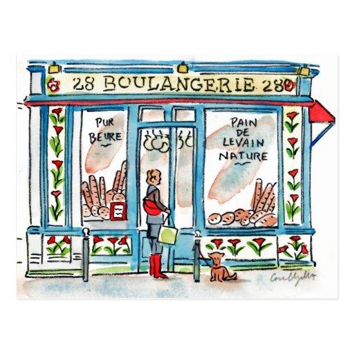 Paris BOULANGERIE 28 Cartões Postais