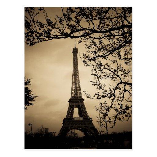 Paris Cartao Postal