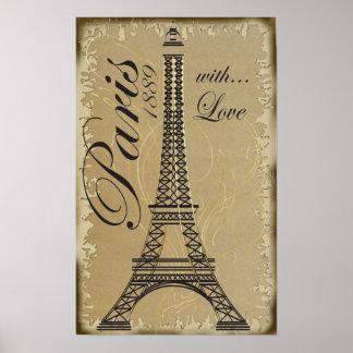 Paris, com amor pôsteres