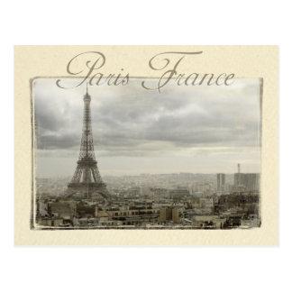 Paris france cartão postal