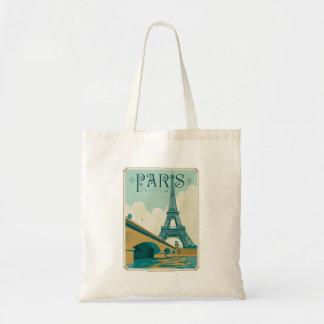 Paris France - torre Eiffel Bolsa Tote