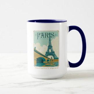 Paris France - torre Eiffel Caneca