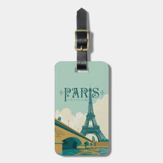 Paris France - torre Eiffel Tag De Mala