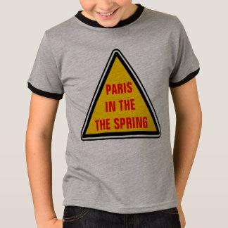 Paris o no primavera camiseta