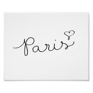 Paris - poster